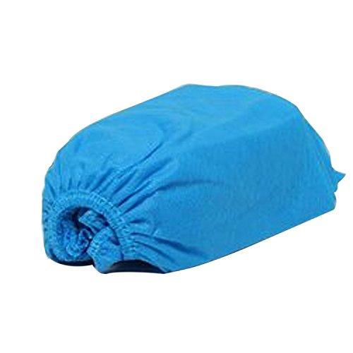 logei 100pz Copertura di Scarpe Monouso TNT(tessuto non tessuto) Copriscarpe--Blu