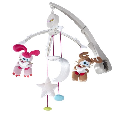 Babymoov Mobile Musical pour Lit Parapluie Etoiles