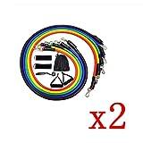 VCXSW 11 Unids/Set Cuerda de tracción Banda de Ejercicios Ejercicios Bandas de Resistencia Tubos de látex Pedal Excerciser Body Training Workout Yoga
