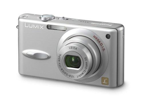 Panasonic Lumix DMC-FX8 EG-S Digitalkamera (5 Megapixel) in Silber