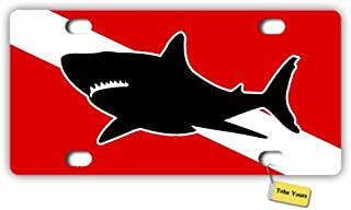 Graphics and More Aquaman Movie My Other Ride is a Shark Novelty Metal Vanity Tag License Plate