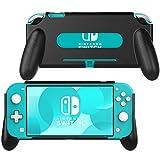 MoKo Hand Grip Case for Nintendo Switch Lite, Comfort Ergonomic Handle Case Protective Shockproof Holder Stand...