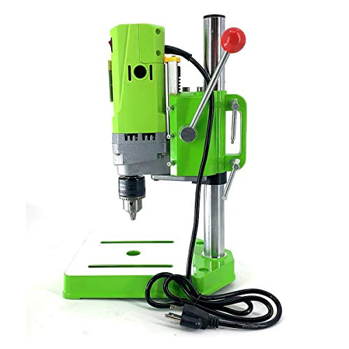 Best Buy! YILIKISS Electric Bench Drill Press Stand,Mini Metal Bench Drilling Machine, Drill Press S...