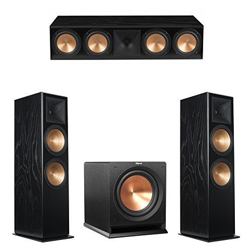 Buy Bargain Klipsch 3.1 Black Ash System with 2 RF-7 III Floorstanding Speakers, 1 RC-64 III Center ...