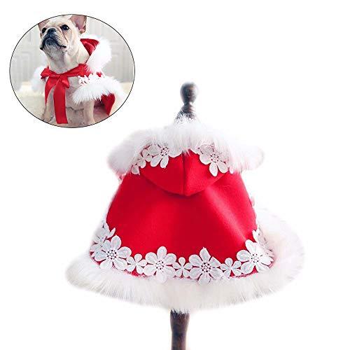 ZWW jas voor huisdieren, kleding voor honden, feestjurk, Nieuwjaar, schattig, geschikt voor kleine en middelgrote