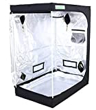 Zazzy 48'X32'X60' Plant Growing Tents 600D Mylar Hydroponic Indoor Grow Tent