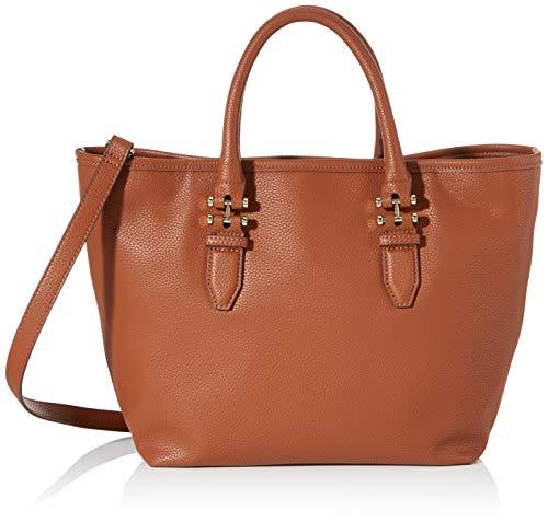 ESPRIT Damen Wb_Nina Citybag Henkeltasche Braun (Rust Brown)