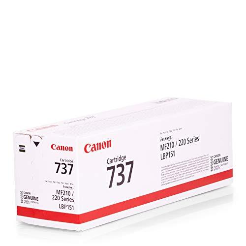Preisvergleich Produktbild Canon Original 9435B002 / EP737,  für i-SENSYS MF 216 n Premium Drucker-Kartusche,  Schwarz,  2400 Seiten