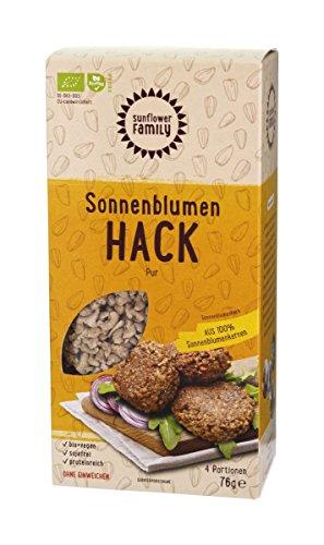 Bio Sonnenblumenhack - die vegane Alternative zum Hackfleisch - ohne Soja (4 Portionen)
