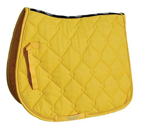 Rhinegold 0 Elite Diamond Saddle Pad-Cob-Yellow Schabracke, gelb