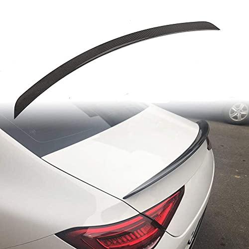 DERATON Alerón Trasero de Fibra de Carbono para Mercedes Benz Clase CLS Clase CLS Clase C257 CLS350 CLS400 CLS450 CLS500 CLS550 CLS53 S AMG Sedan 2018 2019 2020