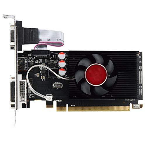 Ajuste para HD6450 GPU Fit For Veineda Desktop Graphics Tarjetas HD6450 2GB DDR3 HDMI Tarjeta De Video Gráfica PCI Express Fit For ATI Radeon Gaming