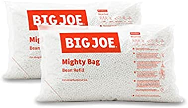 Big Joe Bean Bag Refill, 2 Pack, White
