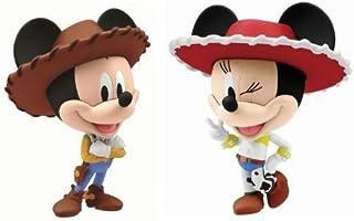 Disney Character Set N Lottery Walt 110th Last One Award Mickey & Minnie Chibi Matter Most (Japan Import) by