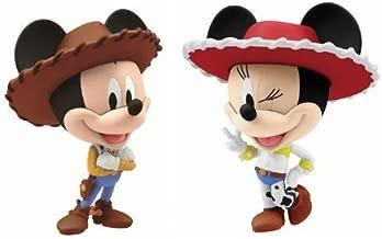 Character set N lottery Walt Disney 110th last one award Mickey & Minnie Chibi matter most (japan import)