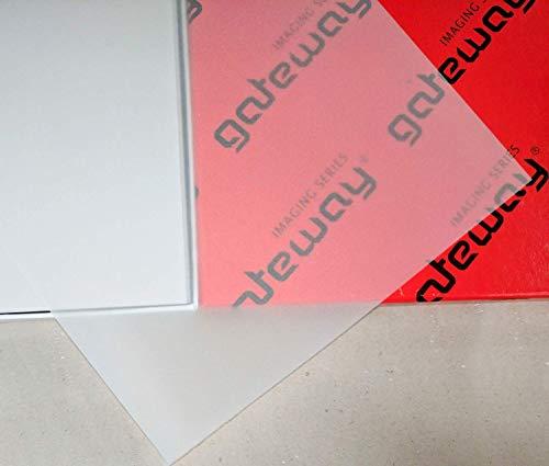Gateway Typo Detail 53GM A3PK250(Pack), Papier, transluzent, 43x 30x 1cm