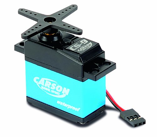 Carson 500502042 Servo CS-9 Waterproof MG/ 9 kg / JR