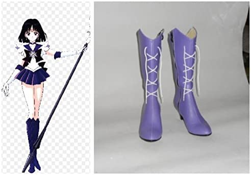 Sailor saturn cosplay boots _image3