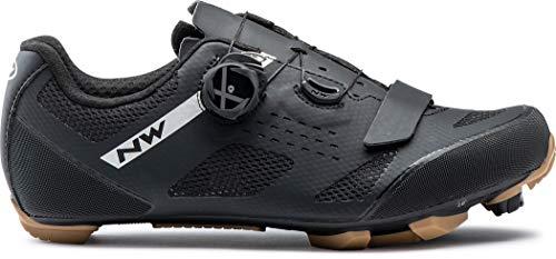 Northwave Scarpe Ciclismo MTB XC Uomo Razer Nero/Honey - Numero 45