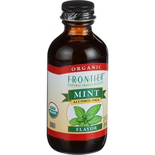 Frontier Herb Organic Mint Flavor Tulsa Mall 2 per - Ounce Fashionable 6 case