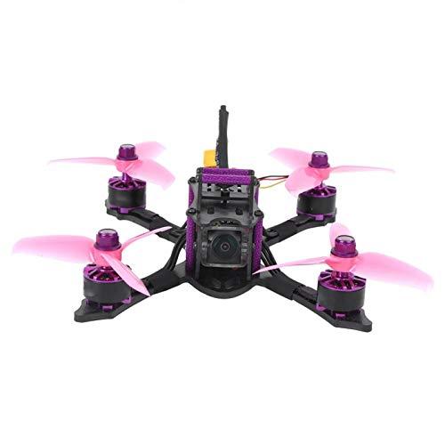 Pyhodi FPV Racing Drone Mini Control Remoto Quadcopter 35A 4-en-1 ESC 1407 Motor para Amantes de los Drones(BNF-FRSKY XM +)