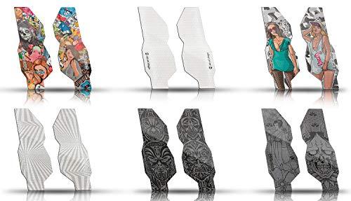 Riesel Design-Tape 3000-Stickerbomb-Gabelschutz-Forktape-Fahrrad Schutz Aufkleber