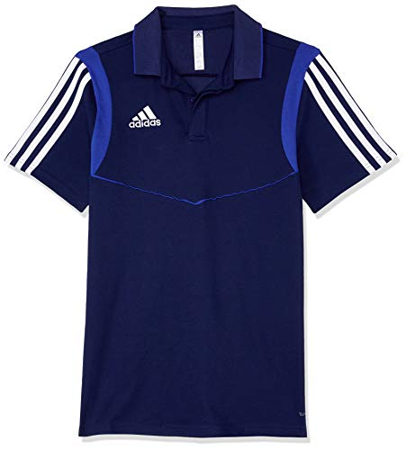 adidas Kinder Tiro 19 Trainingsshirt, Dark Blue/Bold Blue, 152