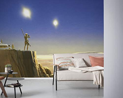 Komar Star Wars vlies fotobehang, kleurrijk, 500 x 250 cm (breedte x hoogte), baanbreedte 50 cm
