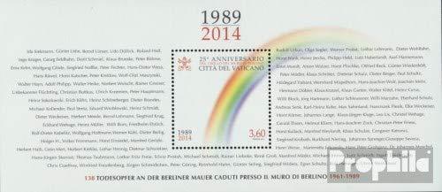 Prophila Collection Vatikanstadt Block47 (kompl.Ausg.) 2014 Berliner Mauerfall (Briefmarken für Sammler)