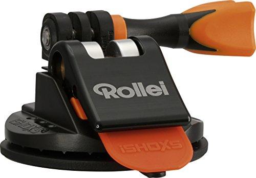Rollei Actioncam Saugnapf Halter M1 Mini - Saugnapf für Rollei Actioncams und GoPro - Ultra starker Halt