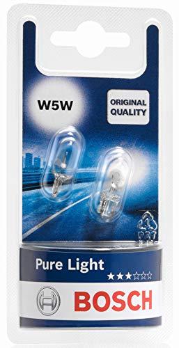 Bosch 1987301026 Autolampe W5W PURE LIGHT - Glassockellampe/Miniwattlampe