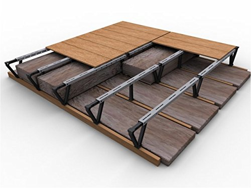 Attic Decking Kit for a Storage Floor Above Deep Attic Insulation (8ft X 8ft Kit)