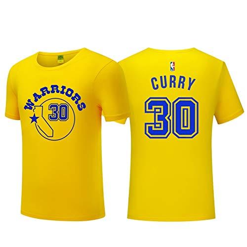 Camiseta de Verano Camiseta de Hombre de la NBA Golden State Warriors Stephen Curry Baloncesto Camiseta de Manga Corta Vintage Entrenamiento de Baloncesto Sudadera Transpirable Ropa Deportiva