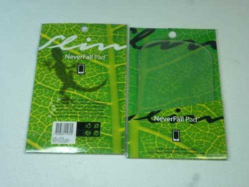wuselwelt 110804-2 Stück NeverFall Pad - Rutschfester Träger für Handy, Smartphone, usw, Anti Rutsch PAD