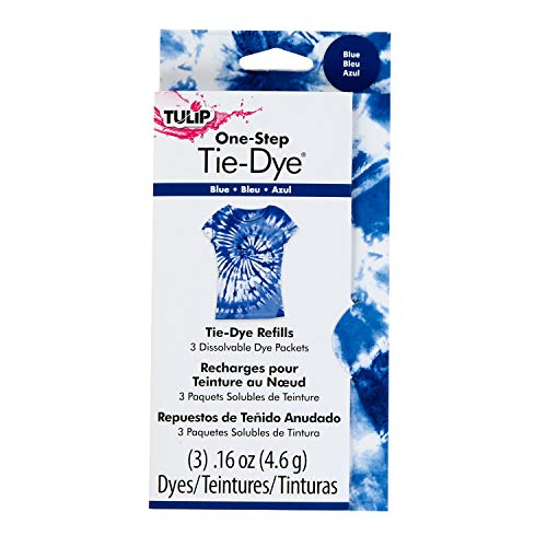 Tulip One-Step Dye Refill 3 Pack Blue