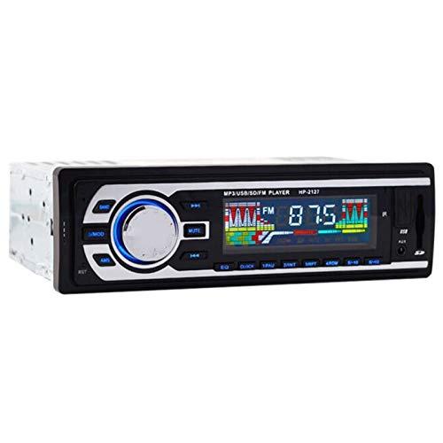 TOOGOO Der Neue 24 V Auto Radio Fm Radio Mp3 Audio Player Unterstützt Bluetooth Telefone Mit USB/Sd Mmc Anschluss Auto Elektronik Sprint 1 Din
