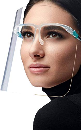 10PC Fashionable, Safe Face Shields For Everyday Use