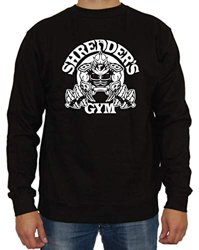 Artshirt Factory Shredder ́s Gym Sweater Negro XL