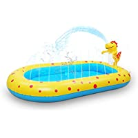 Kiddie Pool Dinosaur Inflatable Sprinkler Swimming Pools Water Toys