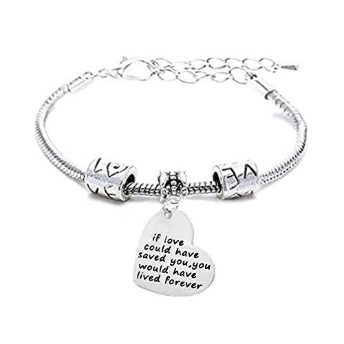 Daughter Bracelet Mum Bracelets Mum Birthday Gifts Mother and Daughter Bracelets Gifts for Mum On Her Birthday Gift for Mum if Love Could