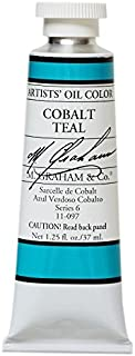 M. Graham & Co. Oil Paint, Cobalt Teal