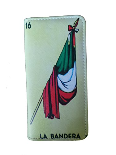 La Loteria börse Führerschein Kreditkarten , mexikanischer Bingo - Gelb - Geldbörsen