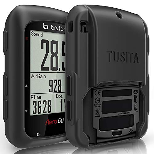 TUSITA Funda para Bryton Aero 60 60E 60T - Protectora de Silicona Skin - Accesorios para computadora con GPS