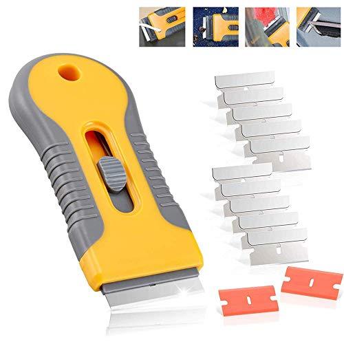 Rascador de vitrocerámica con cuchillas para arañazos de vitrocerámica, para placa de...