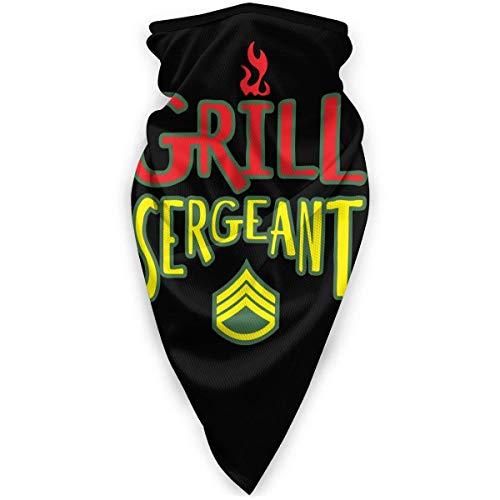 Lzz-Shop Grill Sergeant Neck Gaiter Warmer Winddichter Outdoor-Sportschal
