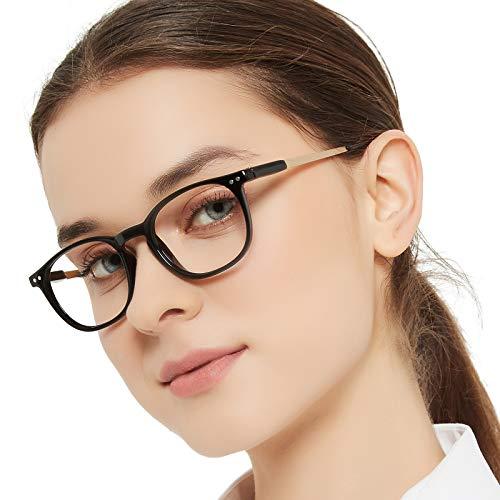 MARE AZZURO Round Reading Glasses Women Trendy Readers 0 1.0...