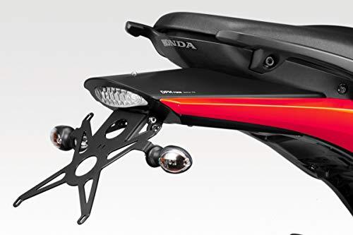 Hornet 600 2007/10 - Kit Soporte de Matrícula (R-0497A) - Ajustable Placa Portamatrículas - Luz LED y Tornillería Incluido - Accesorios De Pretto Moto (DPM Race) - 100% Made in Italy