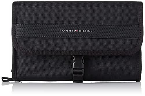 Tommy Hilfiger Elevated Nylon Travel WASHBAG, Autres SLG. Homme, Noir, Medium