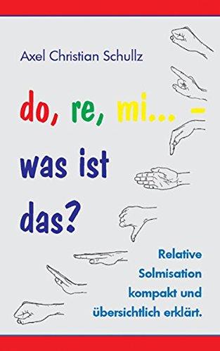 do, re, mi... - was ist das?: Relative Solmisation kompakt und übersichtlich erklärt