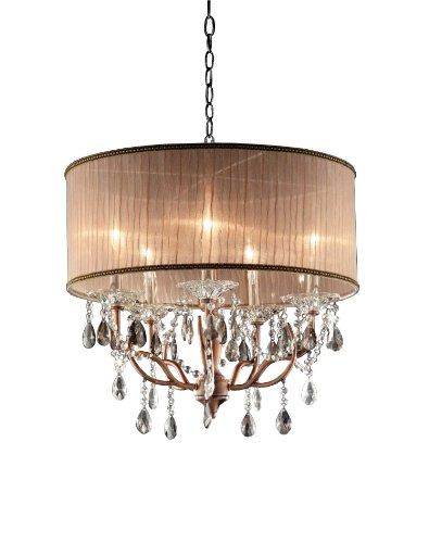 OK-5126h lámpara de techo de cristal Rosie de 25 pulgadas